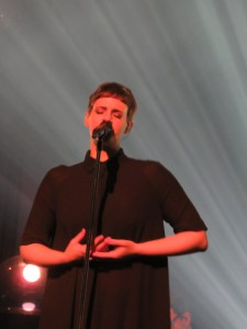 Noémie Wolfs, engagée en 2010 suite à un casting de près de 1000 candidates